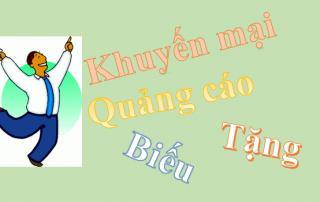 Xuất hóa đơn và hạch toán hàng khuyến mại, quảng cáo, hàng mẫu - Công ty Dịch vụ kế toán Tầm Nhìn Việt