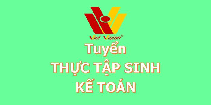 Tuyển thực tập sinh kế toán - Công ty Dịch vụ kế toán Tầm Nhìn Việt